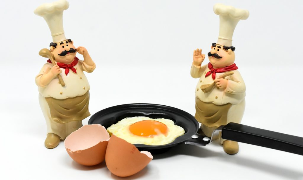 朝食作りにフライパンは不要!